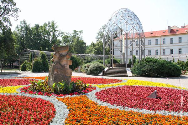 Источник в парке, Теплице / Фото из Чехии