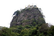 вид на гору / Мьянма