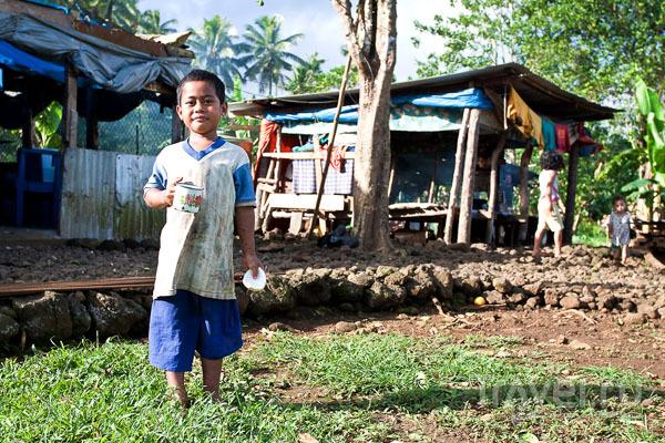 Жилища на Самоа / Фото с Западного Самоа