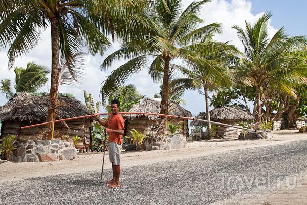 Местный житель, Самоа / Фото с Западного Самоа