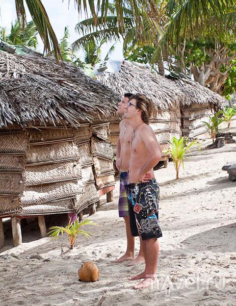 Туристы на Самоа / Фото с Западного Самоа