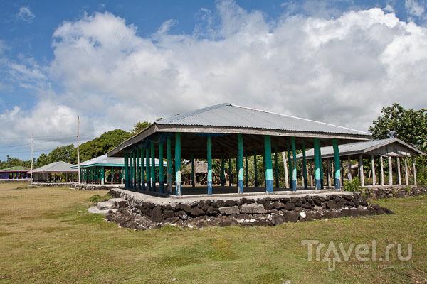 Amoa College на острове Савайи / Фото с Западного Самоа