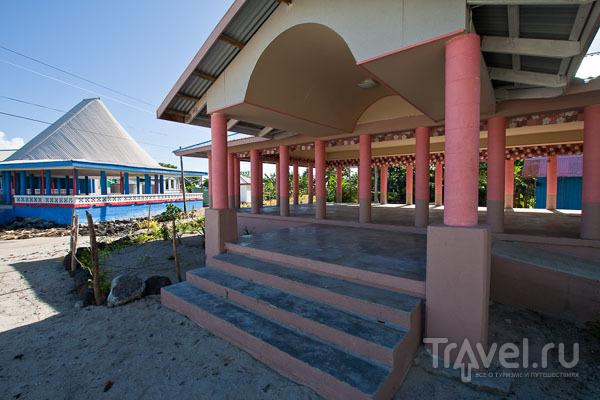 Дома на Самоа / Фото с Западного Самоа