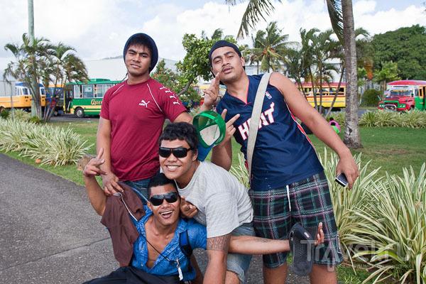 Молодежь на Самоа / Фото с Западного Самоа