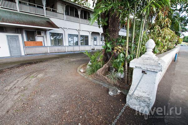 Колониальная архитектура на Самоа / Фото с Западного Самоа