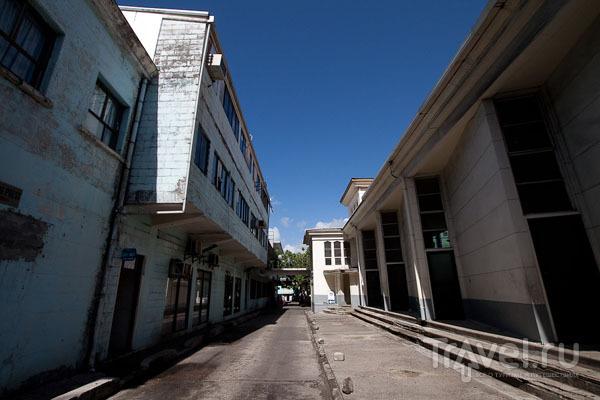 Дома в стиле конструктивизм / Фото с Западного Самоа