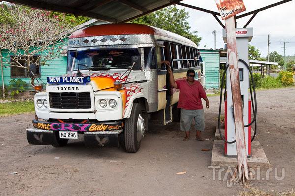 Автобус на Самоа / Фото с Западного Самоа