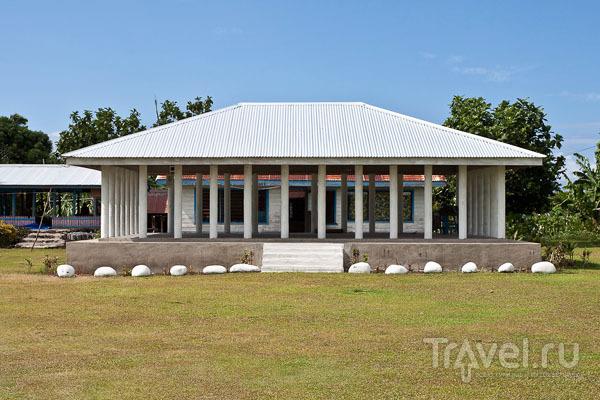 Фале, построенное по современным технологиям / Фото с Западного Самоа