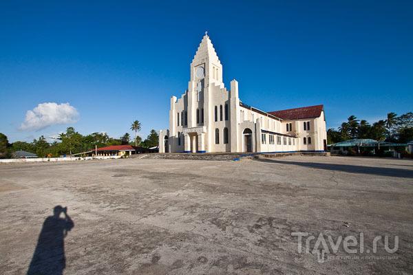 Церковь на Самоа / Фото с Западного Самоа