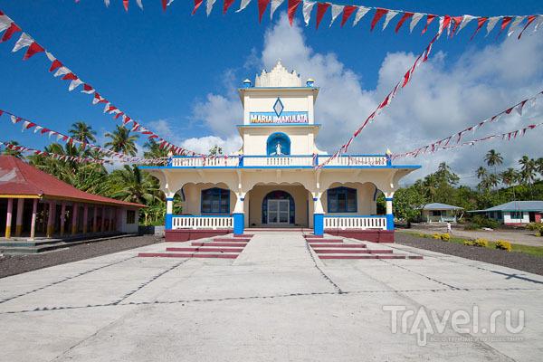 Храм на Самоа / Фото с Западного Самоа