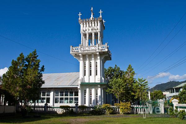Собор на Самоа / Фото с Западного Самоа