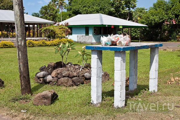 В деревне на Самоа / Фото с Западного Самоа