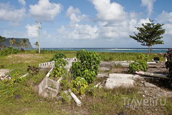 Южное побережье Самоа / Фото с Западного Самоа