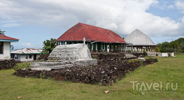 Деревня на Самоа / Фото с Западного Самоа