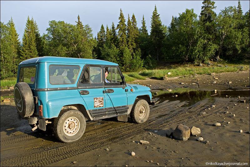 Дорога на Соловецких островах / Фото из России