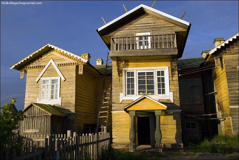 Жилой дом на Большом Соловецком острове / Фото из России