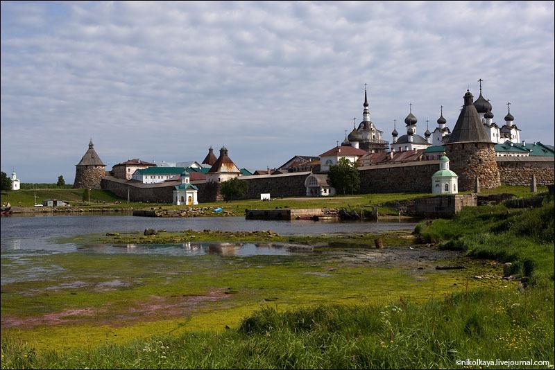 Соловецкий кремль / Фото из России