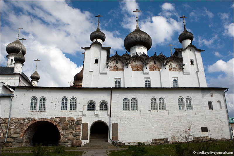 Церковь на Большом Соловецком острове / Фото из России