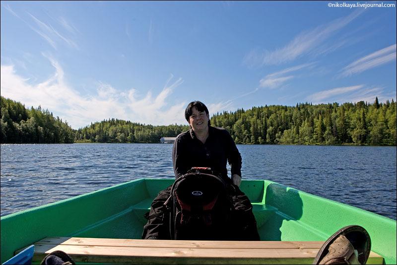 Озеро на Большом Соловецком острове / Фото из России