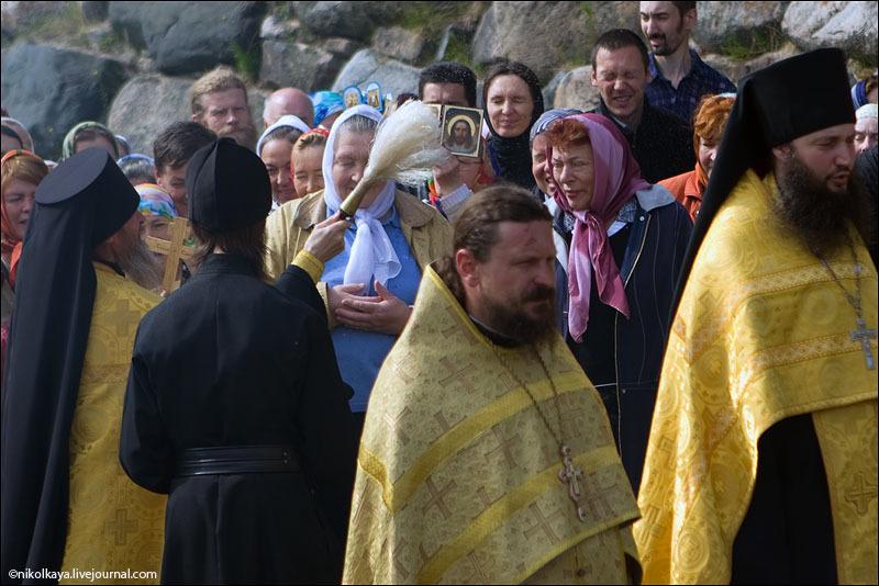 Праздник Всех русских святых на Соловках / Фото из России