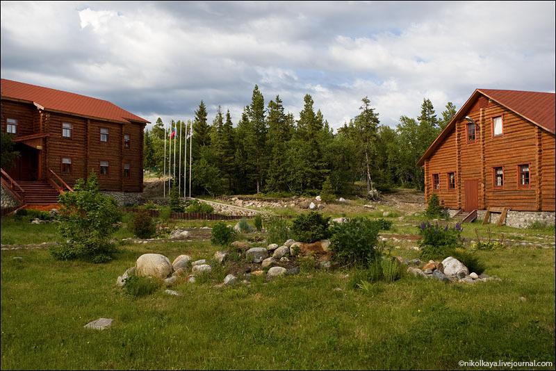 Отель на Большом Соловецком острове / Фото из России
