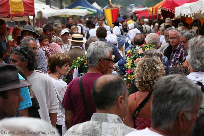 На фестивале лаванды в Валансоле / Фото из Франции