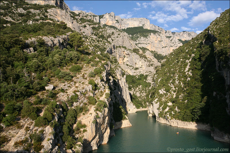 Ущелье в Провансе / Фото из Франции