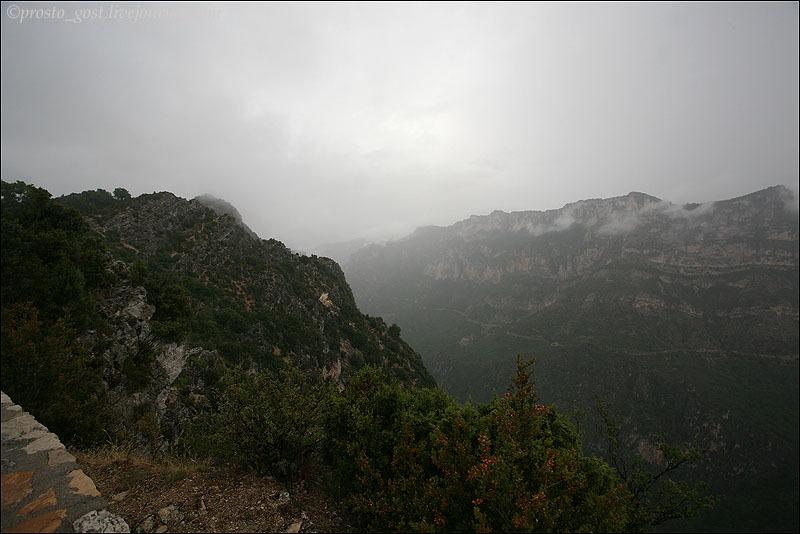 Пейзаж Вердонского ущелья / Фото из Франции