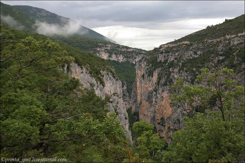 В Вердонском ущелье / Фото из Франции