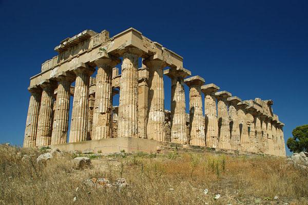 Разрушенный храм в Селинунте / Фото из Италии