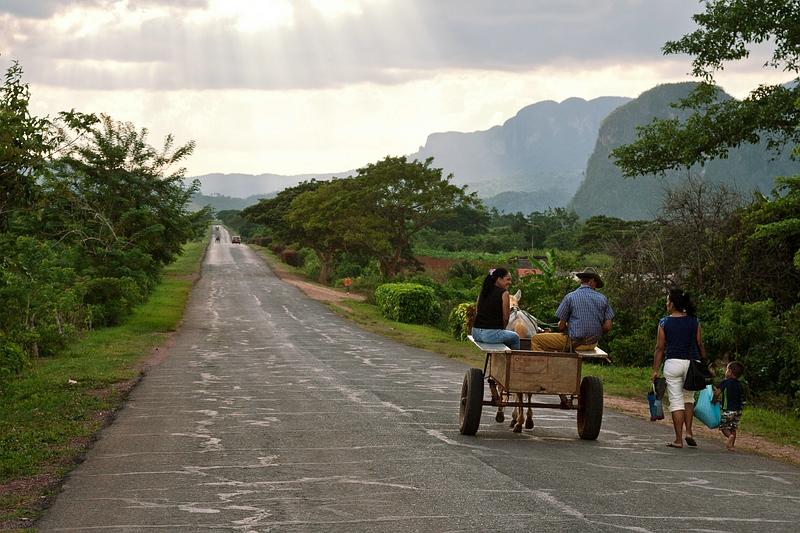 Проселочная дорога на Кубе / Фото с Кубы