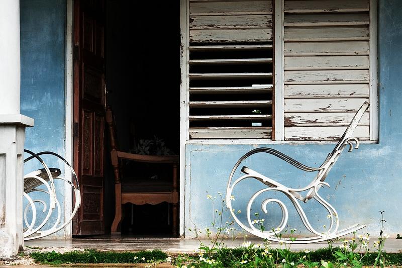 Кресло-качалка на Кубе / Фото с Кубы