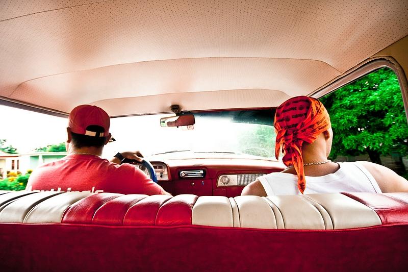 В лимузине на Кубе / Фото с Кубы