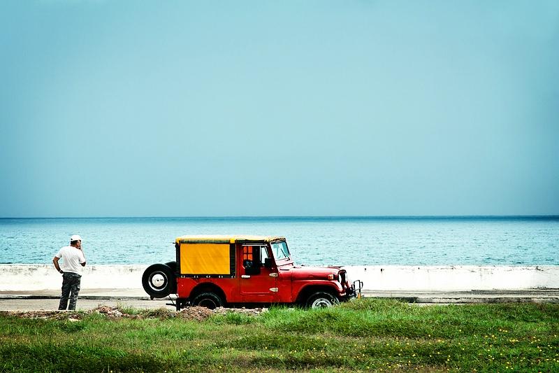 Набережная в Баракоа / Фото с Кубы