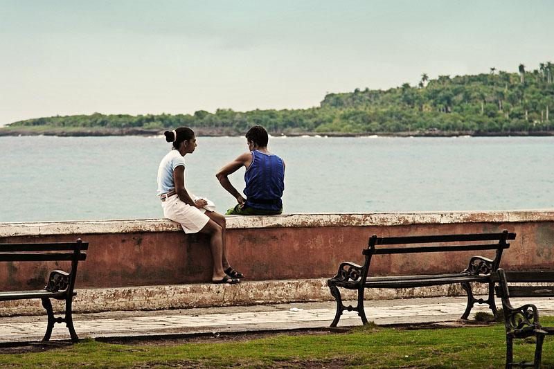 Набережная в городе Баракоа / Фото с Кубы