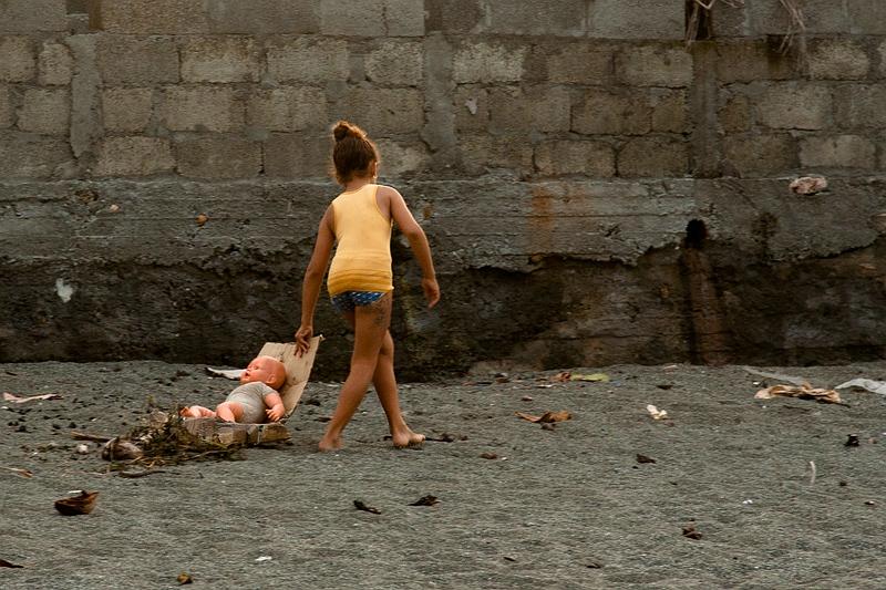 Девочка из города Баракоа / Фото с Кубы