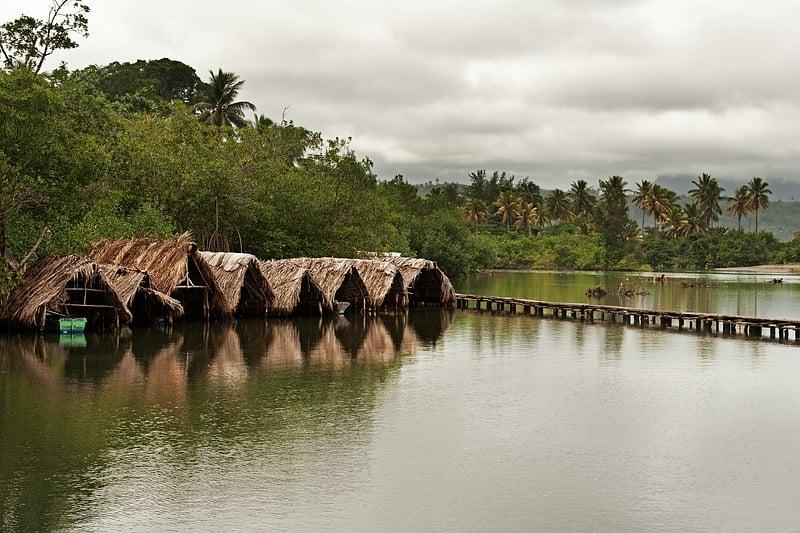 Река у деревеньки Boca de Miel / Фото с Кубы
