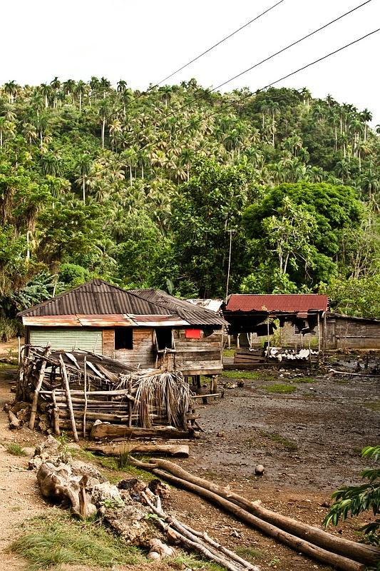 Деревня Boca de Miel / Фото с Кубы