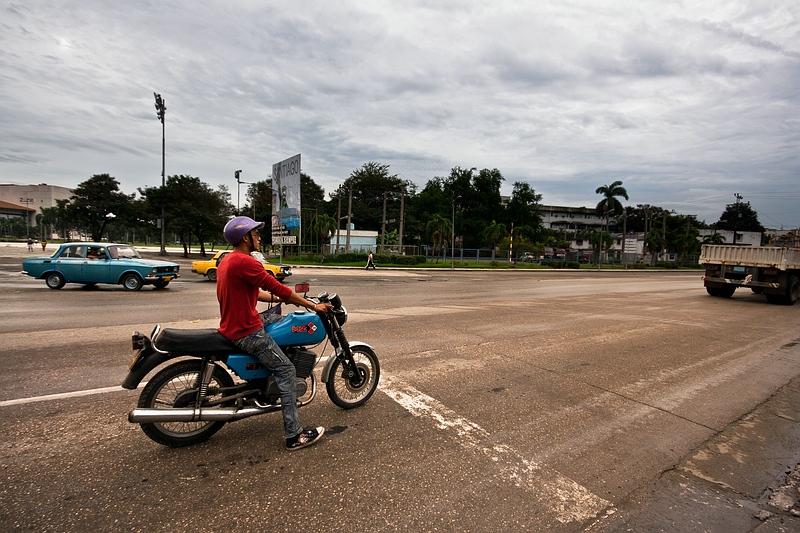 На улице в Гуантанамо / Фото с Кубы