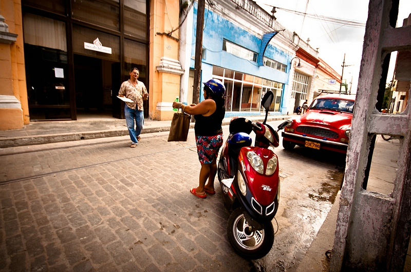 На улице города Камагуэй / Фото с Кубы
