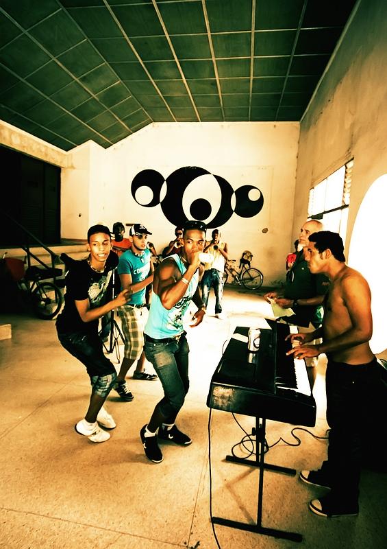 Репетиция данс-банды в Камагуэе / Фото с Кубы