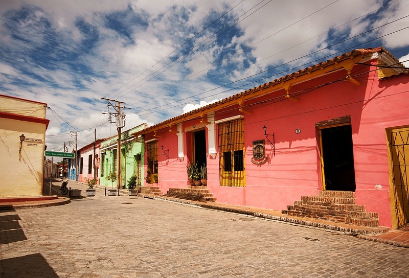 На улице Камагуэя / Фото с Кубы