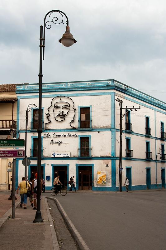 Че в Камагуэе / Фото с Кубы