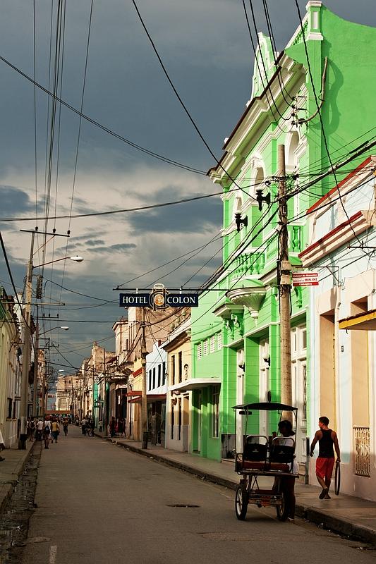 Улица в Камагуэе / Фото с Кубы