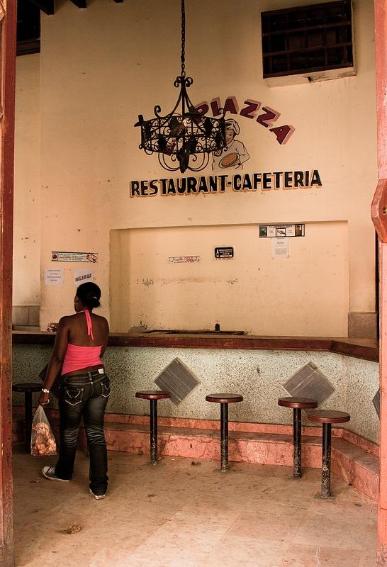 Кафе в Камагуэе / Фото с Кубы