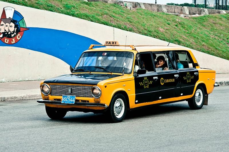 Такси на Кубе / Фото с Кубы
