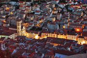 ночной город / Словения