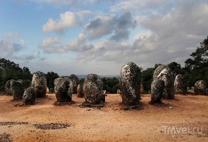 Кромлехи в Алмендраше / Фото из Португалии