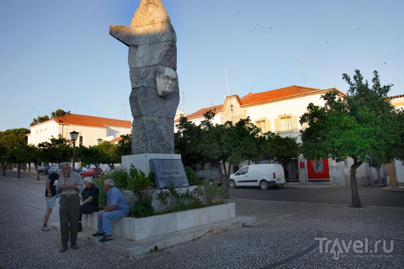 На площади Республики в Вила-Висозе / Фото из Португалии