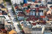 в Бергене дождь / Норвегия